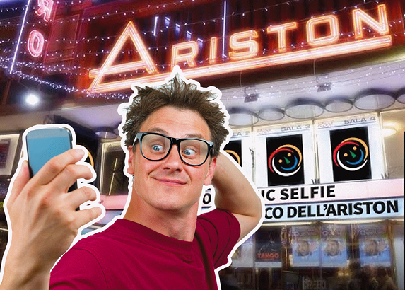 Ariston Comic Selfie in corsa per le finali di fine maggio.